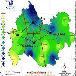 دانلود گزارش کاربدست آوردن میانگین بارندگی حوزه به روش چند ظلعی تیسن
